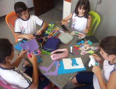 Atividades na sala de artes – EF2