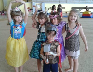 Carnaval na Ginástica Artística
