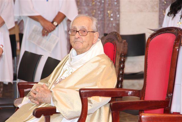 Pe. Alfredo Bortolini celebra 100 anos de vida