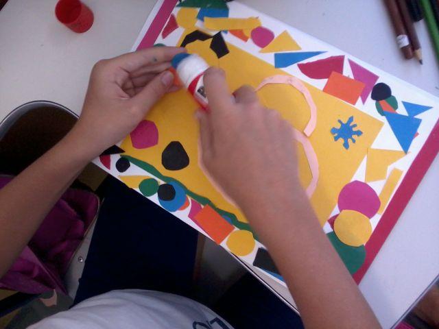Atividades de artes nos 5ºs anos EF1
