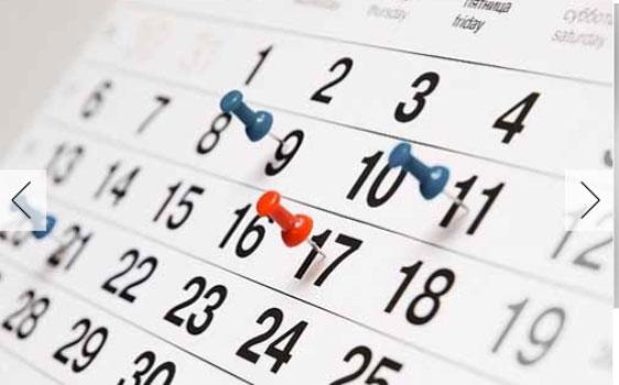 Calendário 2017 – Ensino Médio