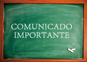 Comunicado – Retorno das atividades escolares e administrativas