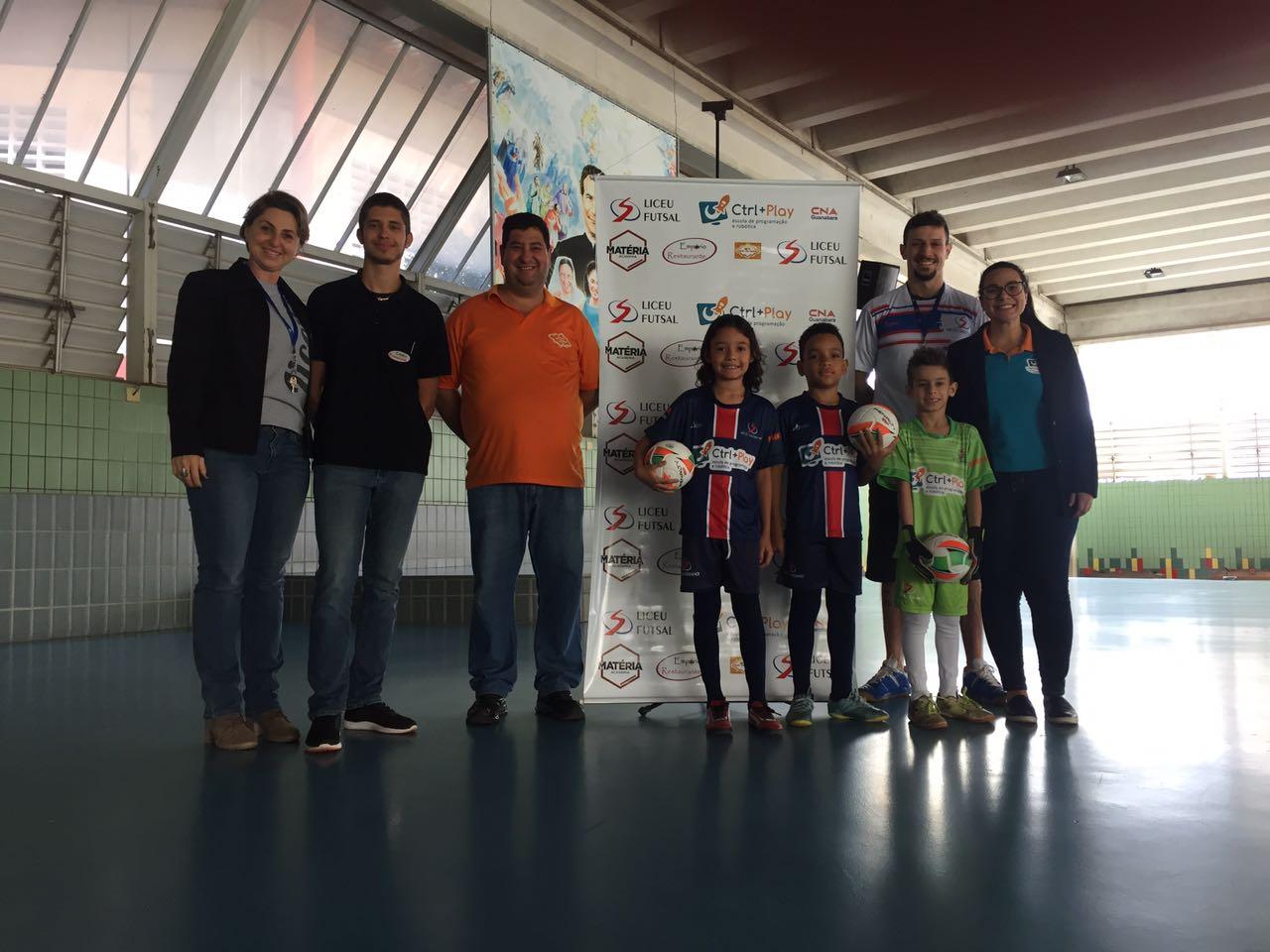 Liceu Futsal de cara nova!
