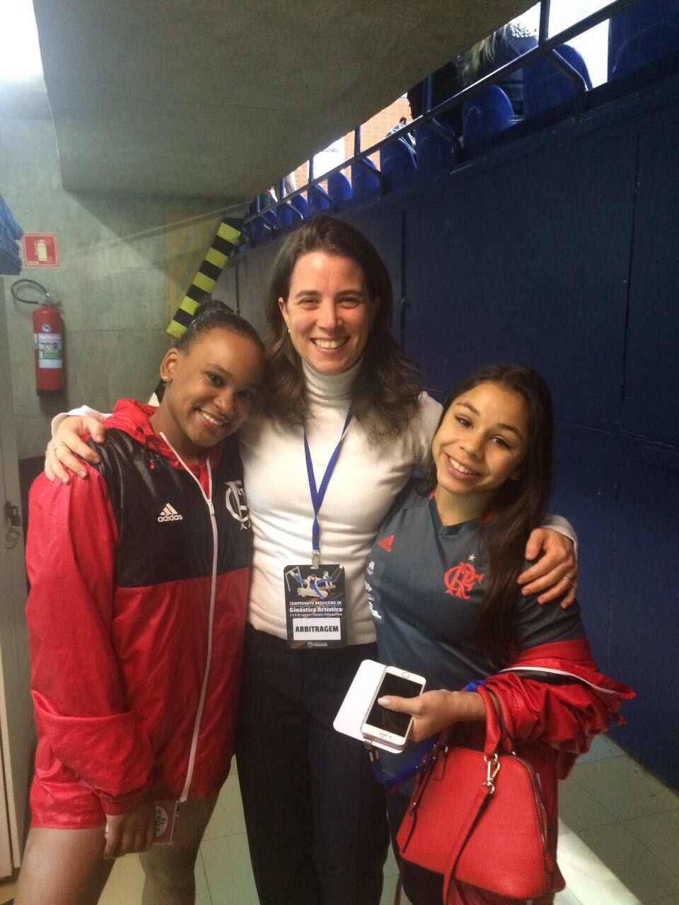 O Campeonato Brasileiro de Ginástica Artística contou com a presença da nossa professora Giovana, como árbitra!
