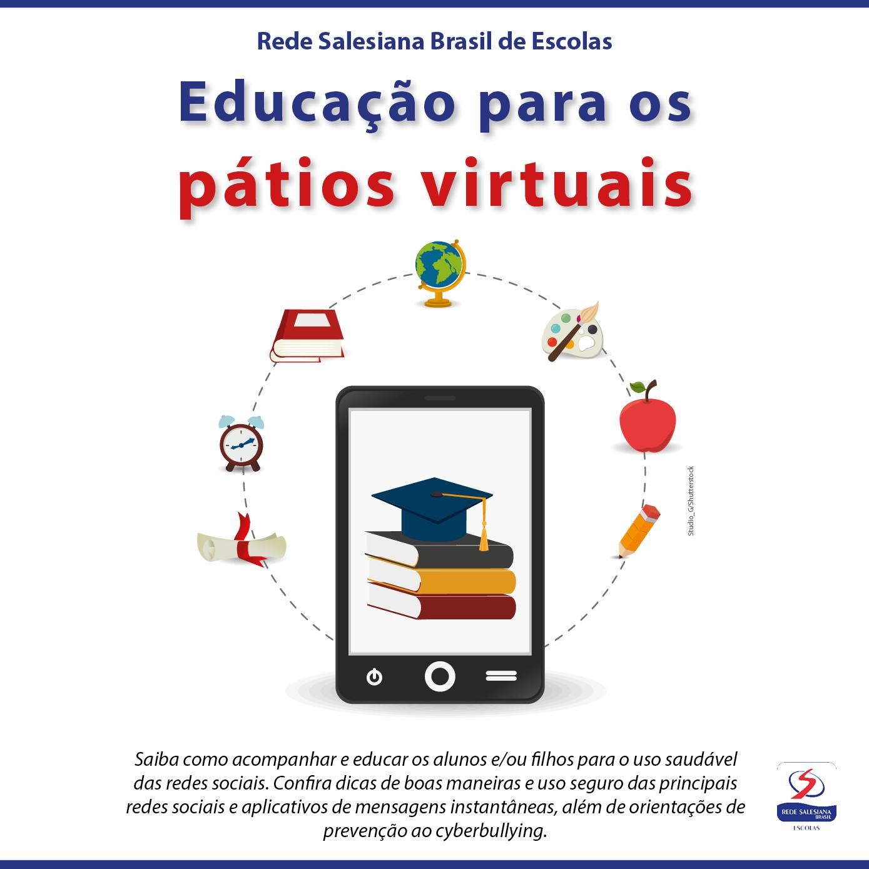 Rede Salesiana Brasil cria cartilha com orientações à Comunidade Educativa