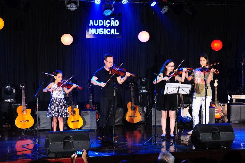 Audição musical 2017 –  Um verdadeiro show de talentos!