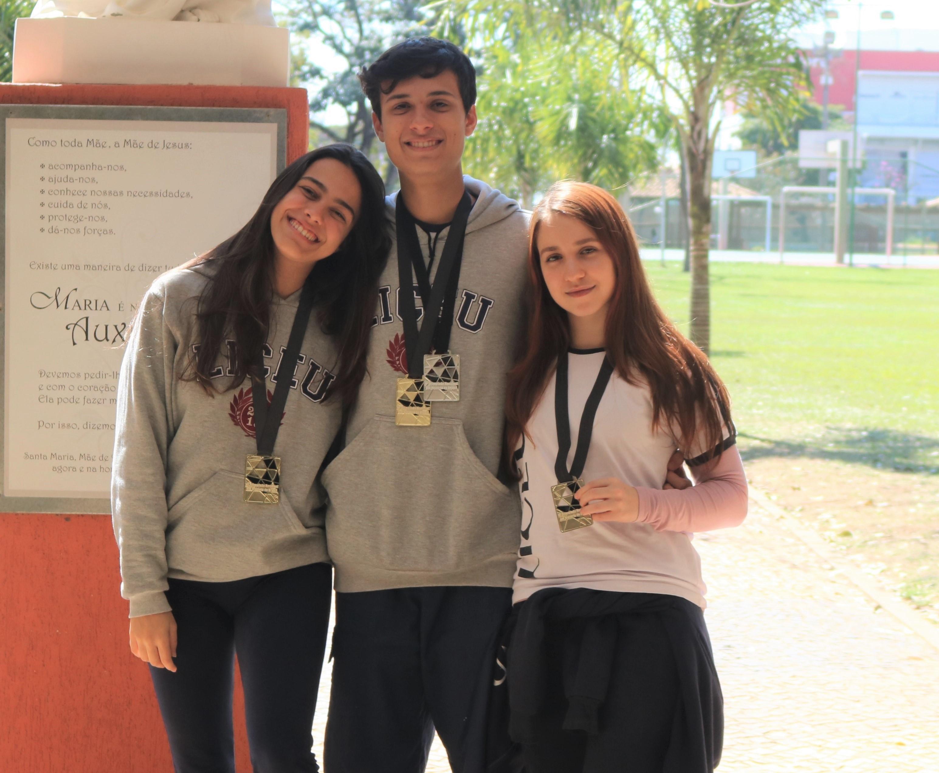 Alunos Liceu conquistam medalha de ouro na Olimpíada Nacional em História do Brasil