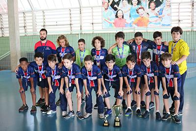 Categoria Sub 12  do Futsal LICEU dá show em Jogos Interescolares