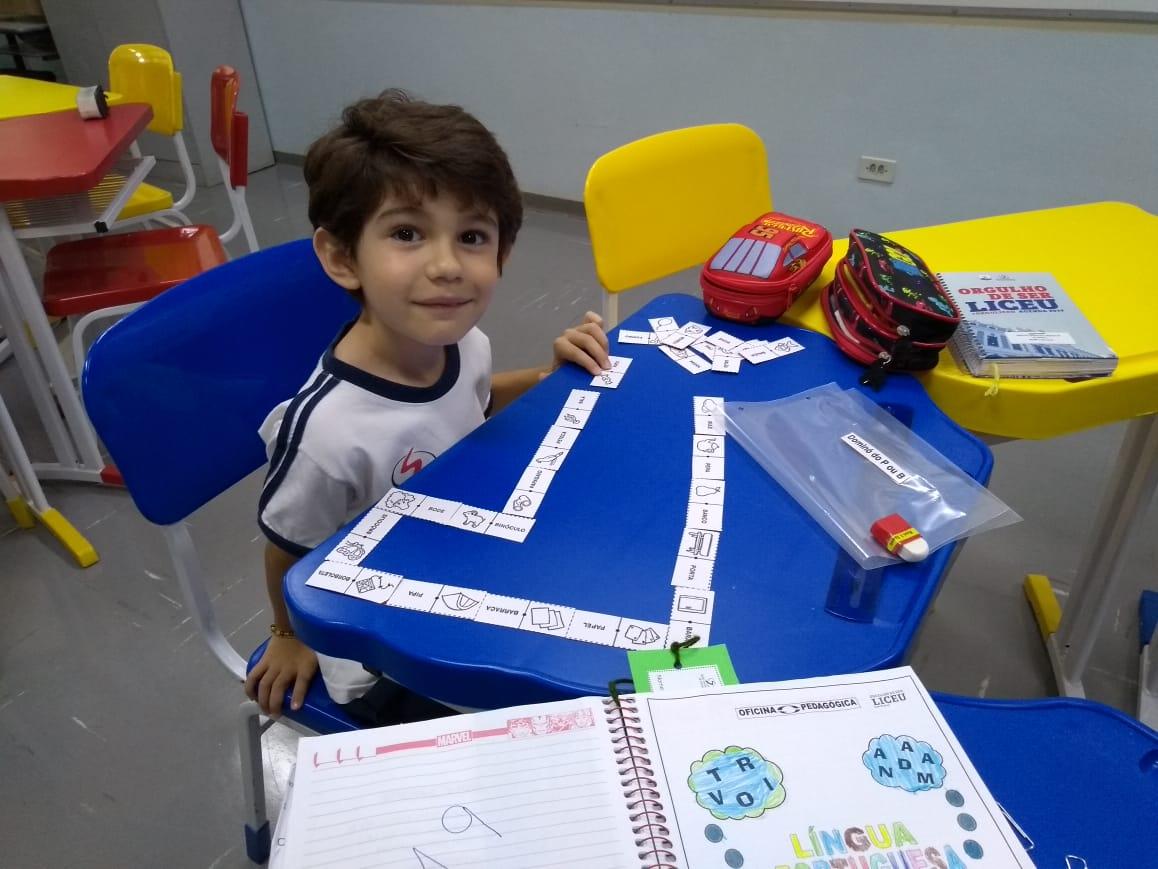 Oficina Pedagógica : ensino com muito carinho