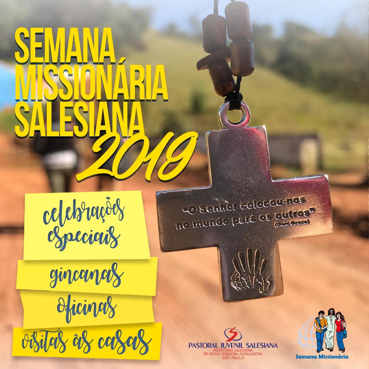 Semana Missionária Salesiana 2019