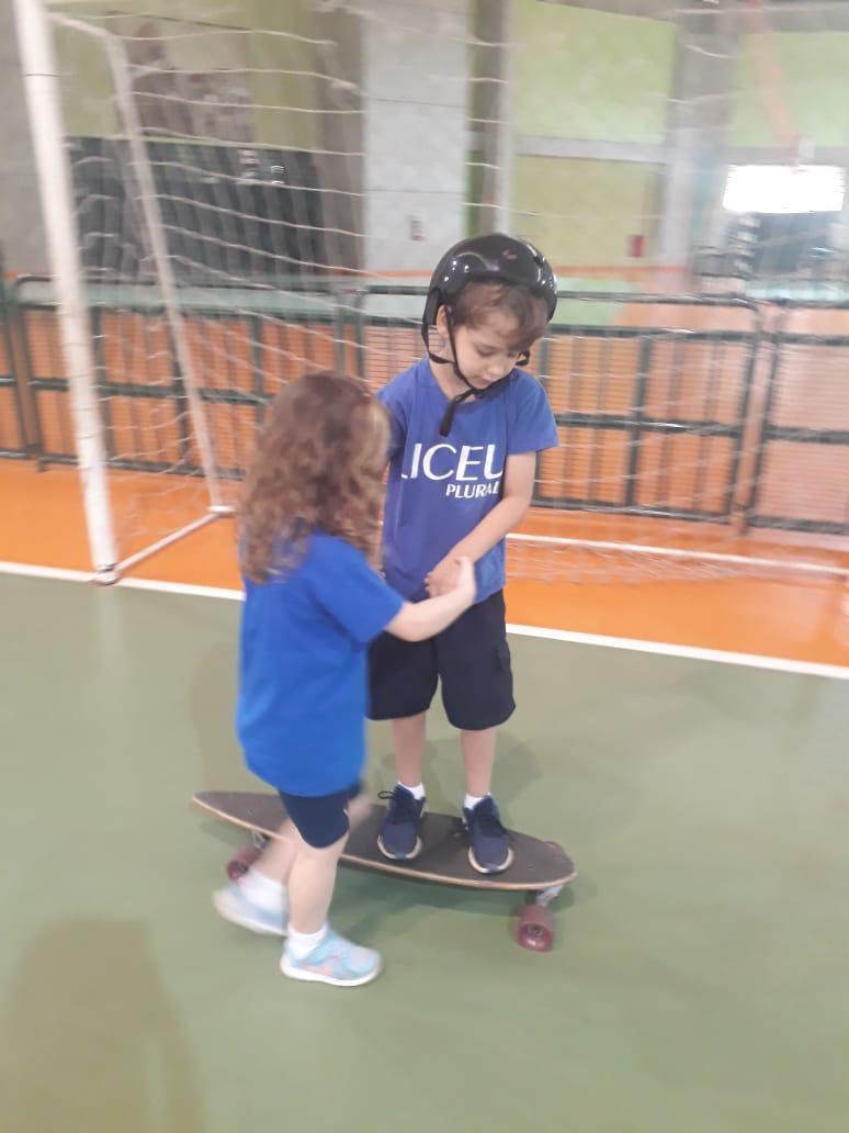 Skate: Aventura adaptada ao contexto escolar