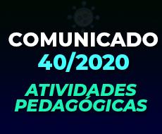COMUNICADO 40/2020