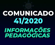 COMUNICADO 41/2020