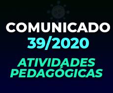 COMUNICADO 39/2020