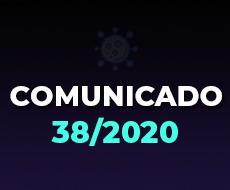 Comunicado 38/2020