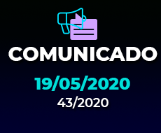 COMUNICADO 43/2020