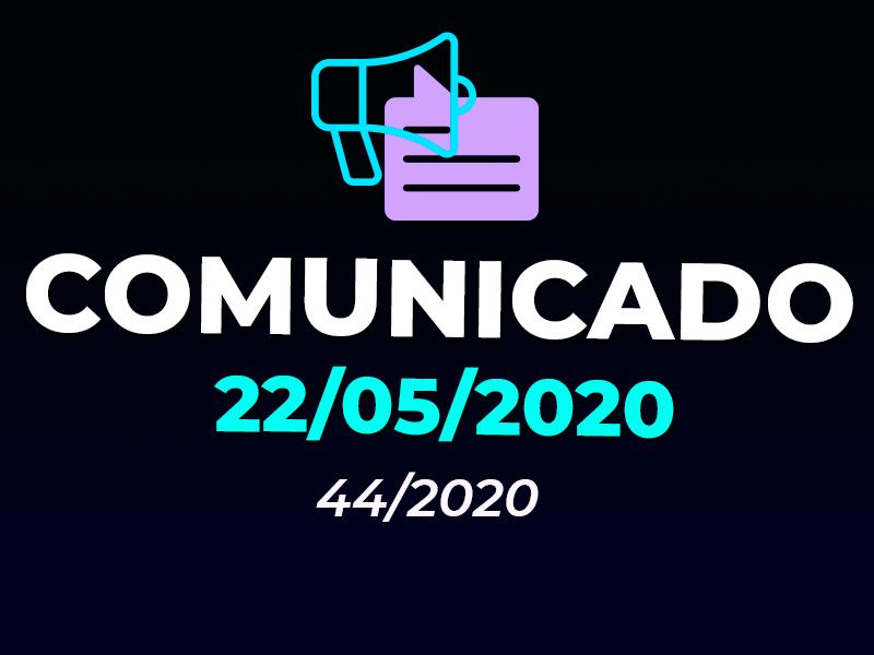 COMUNICADO | ANTECIPAÇÃO DE FERIADOS