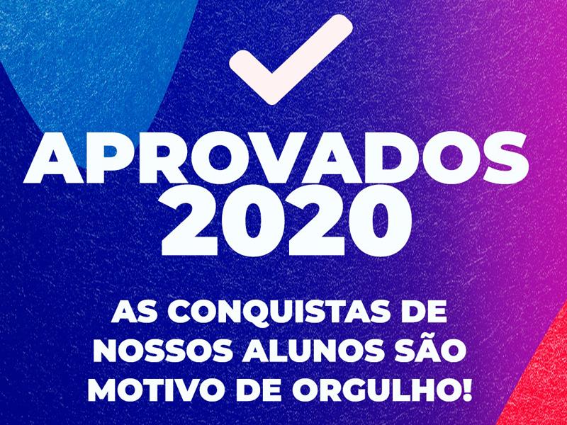 Aprovados 2020 | Ensino Médio