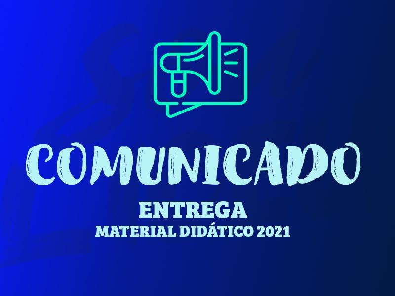 Material Didático 2021 | Entrega