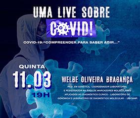 Uma Live sobre COVID